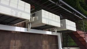 balkon domu jednorodzinnego w Kluczach